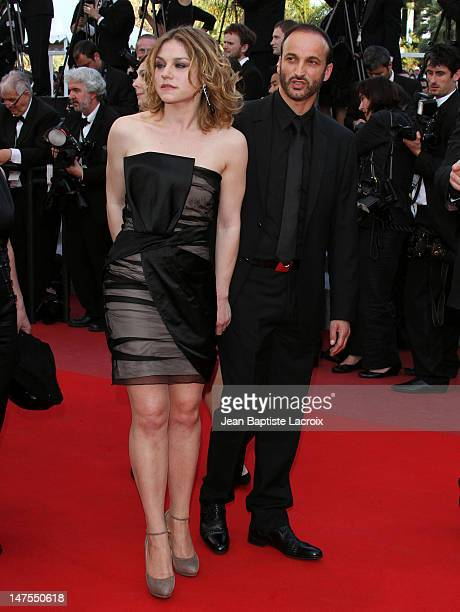 Emilie Dequenne and Michel Ferracci attend the premiere of Biutiful held at the Palais des Festivals during the 63rd Annual International Cannes Film...