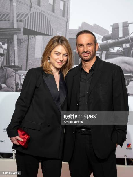 Emilie Dequenne and Michel Ferracci attends the Opening Ceremony of the 11th Film Festival Lumiere on October 12 2019 in Lyon France