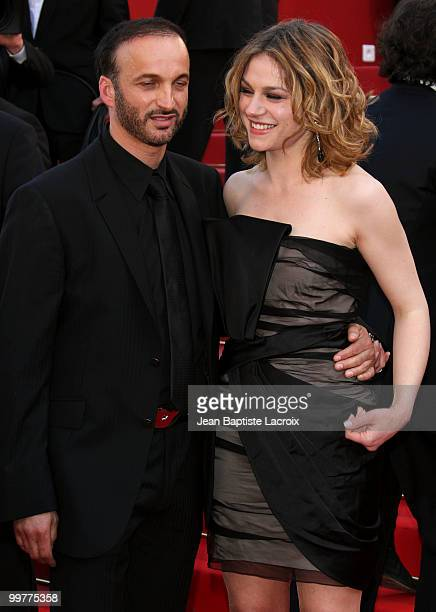 Emilie Dequenne and Michel Ferracci attends the premiere of Biutiful held at the Palais des Festivals during the 63rd Annual International Cannes...