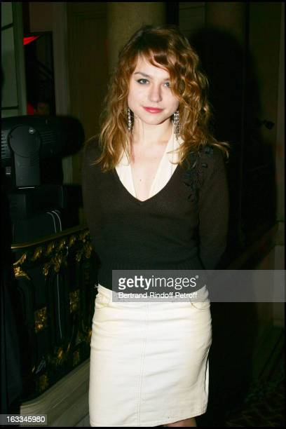 Emilie Dequenne at The Ruinart Pierre Herme Evening Celebration For Saint Valentin 2006
