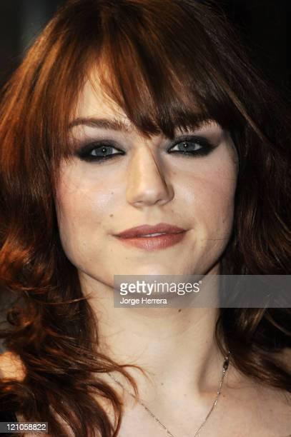 """Emilie Dequenne during """"La Vie En Rose"""" London Premiere - Arrivals at Curzon Mayfair in London, Great Britain."""