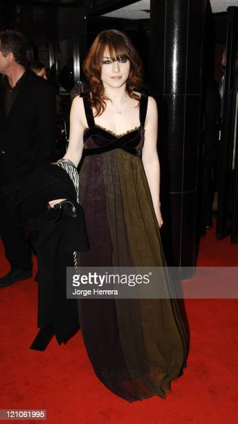 Emilie Dequenne during 'La Vie En Rose' London Premiere Arrivals at Curzon Mayfair in London Great Britain
