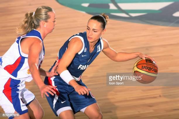 Emilie DUMERC France / Russie Championnat d'Europe de Basket 2007