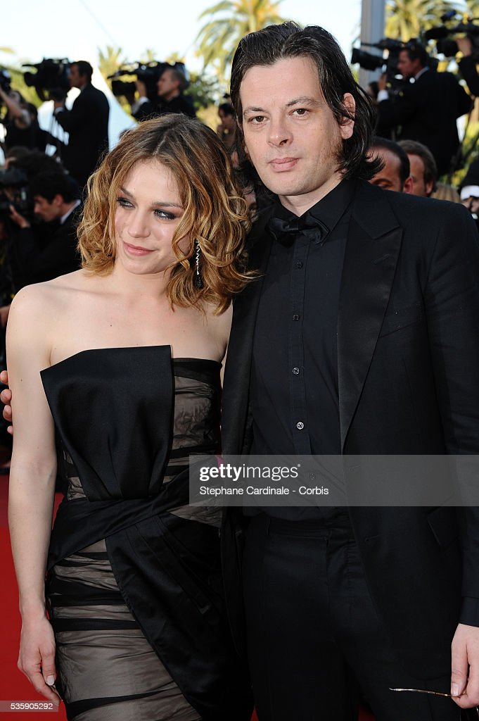 Emilie Duquenne and Benjamin Biolay at the Premiere for 'Biutiful' during the 63rd Cannes International Film Festival.