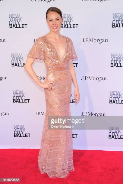Emilie Gerrity attends New York City Ballet 2018 Spring Gala at David H Koch Theater Lincoln Center on May 3 2018 in New York City