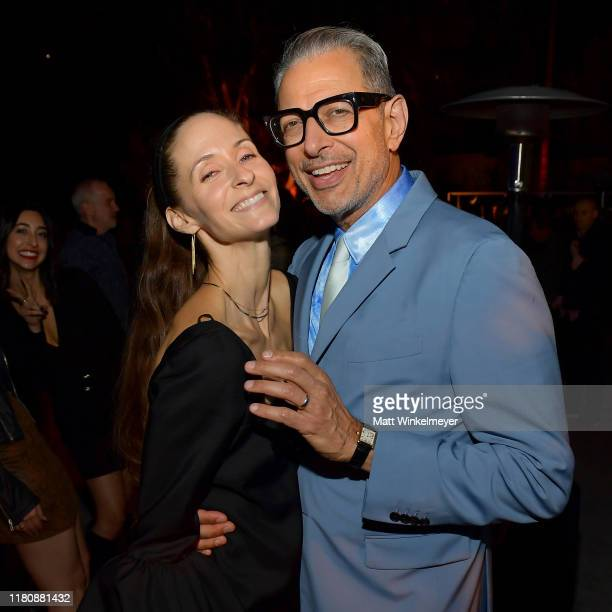 """Emilie Livingston and Jeff Goldblum attend Oceana's Fourth Annual """"Rock Under The Stars"""" Featuring The Red Hot Chili Peppers on October 12, 2019 in..."""
