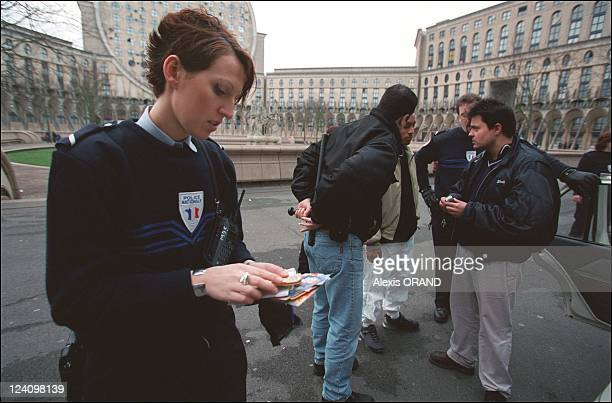 Emilie She's a policewoman and she's proud of it in France on January 31 2002 21year policewoman Emilie works in the banlieue of Paris in...