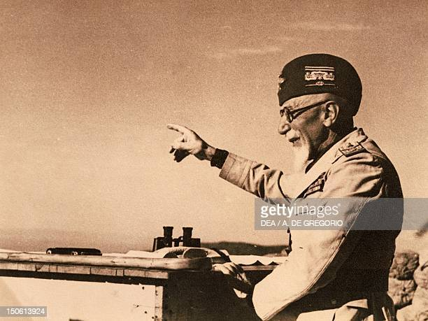 Emilio de Bono Italian general and politician commander of Italian forces during the first phase of the war 1935 Ethiopian war 20th century