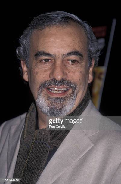 Emilio Echevarria attends the premiere of 'Amores Perros' on March 27 2001 at the Galaxy Theater in Hollywood California