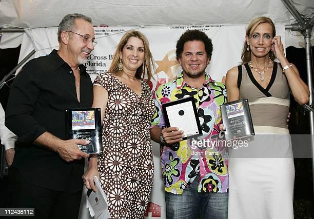 Emilio Estefan Amarilis Osorio's Romero Britto and Lily Estefan