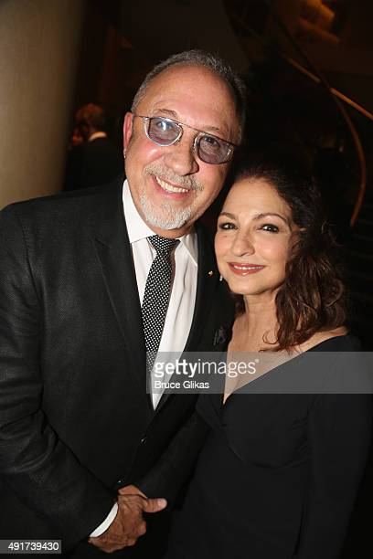 Emilio Estefan and Gloria Estefan attend a special performance of ON YOUR FEET The Story Of Emilio Gloria Estefan benefiting Gabrielle's Angel...