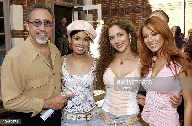 Emilio Estefan and members of the Miami Sound Machine take part at the Grammy in the Schools seminar at the University of Southern California...
