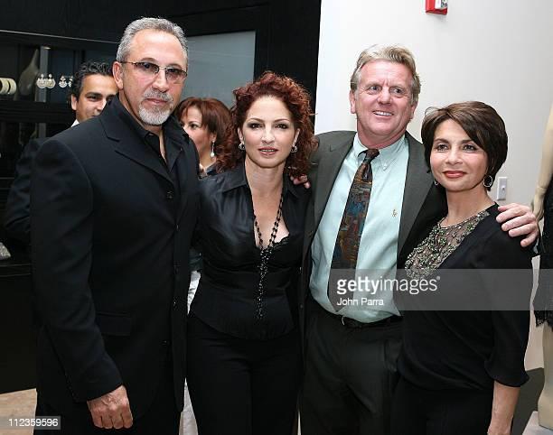 Emilio Estefan, Gloria Estefan Terje Lundaas and Mayda Cisneros