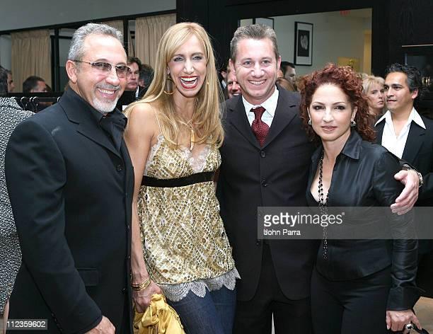 Emilio Estefan, Lili Estefan, guest and Gloria Estefan
