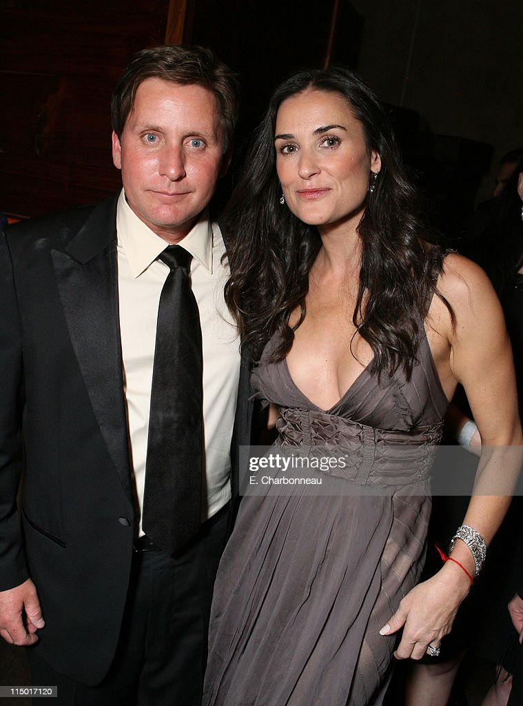 Emilio Estevez and Demi Moore during The Weinstein Company Hosts Black Tie Opening Night Gala and US Premiere of Emilio Estevez's 'Bobby' at Grauman's Chinese Theatre in Los Angeles, CA, United States.
