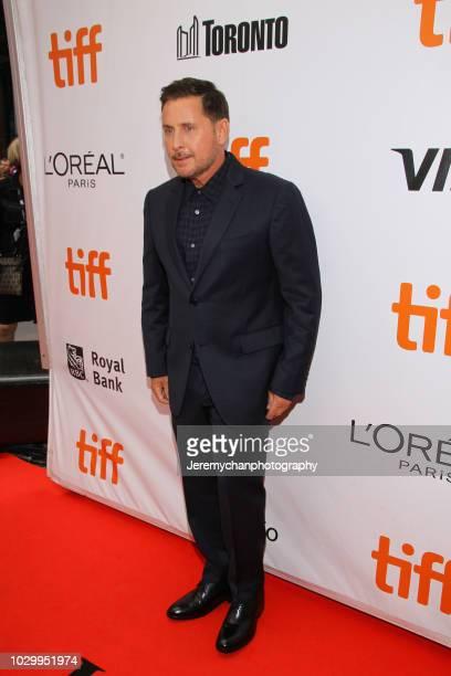 Emilio Estevez attends 'The Public' Premiere during 2018 Toronto International Film Festival at Roy Thomson Hall on September 9 2018 in Toronto Canada