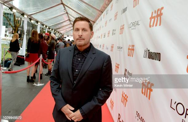 Emilio Estevez attends the The Public premiere during 2018 Toronto International Film Festival at Roy Thomson Hall on September 9 2018 in Toronto...