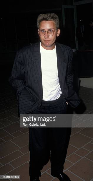 Emilio Estevez during 'Hail Hail Rock n' Roll' Los Angeles Premiere at AMC Theater in Los Angeles California United States