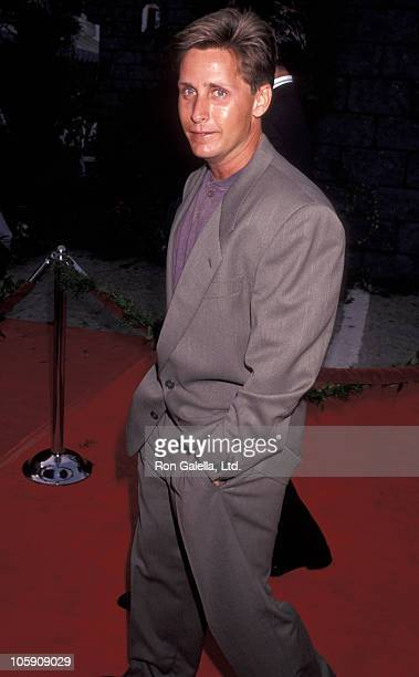 Emilio Estevez during Premiere of 'Robin Hood Prince of Thieves' in Los Angeles at Westwood Marquis in Westwood California United States