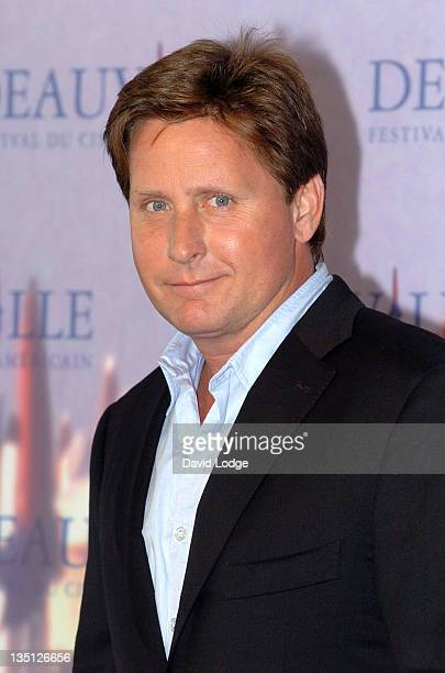 Emilio Estevez during The 32nd Annual Deauville American Film Festival 'Bobby' Photocall in Deauville France