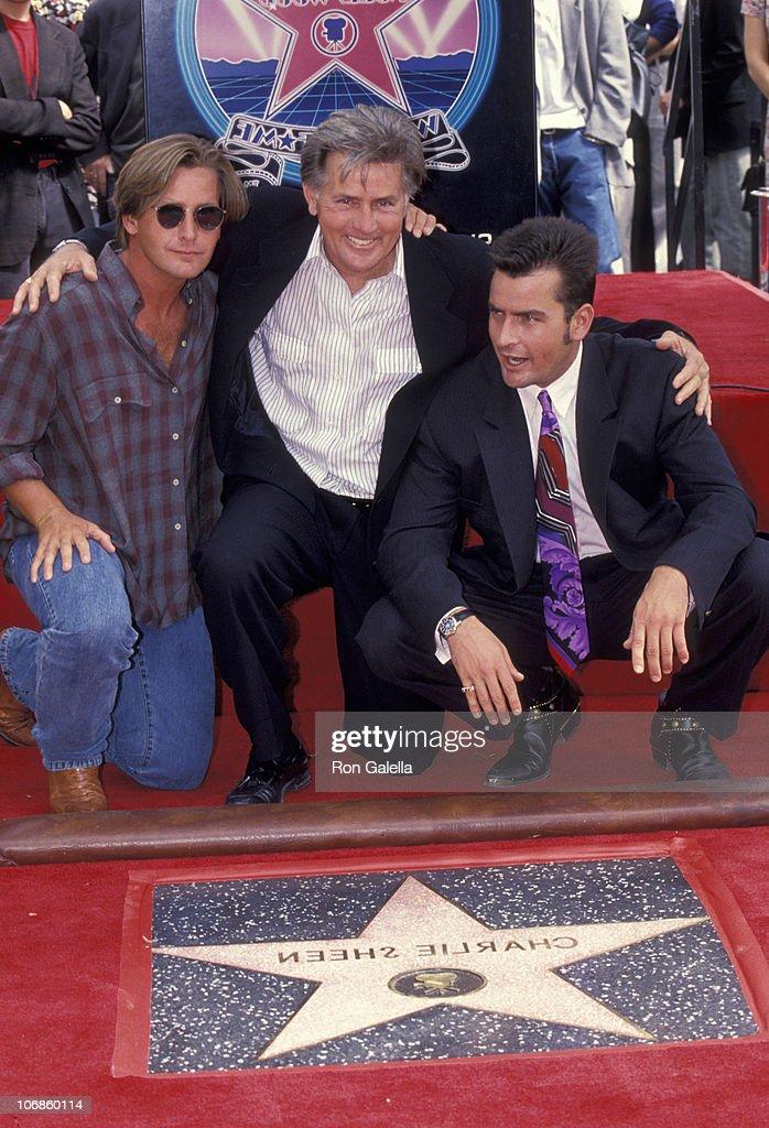 Charlie Sheen Emilio Estevez Martin Sheen