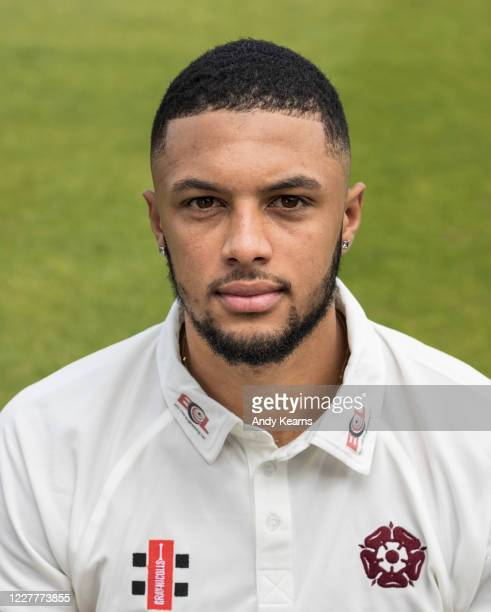 Emilio Gay of Northamptonshire during the Northamptonshire County Cricket Club Photo Shoot at The County Ground on July 10 2020 in Northampton England
