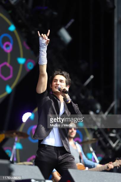 Emilio Osorio performs during the concert Exa 2019 at Foro Sol on September 21 2019 in Mexico City Mexico