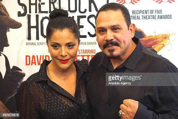 Emilio Rivera and his wife Yadi Rivera arrive for the 'Sherlock Holmes' premiere at The Ricardo Montalban Theatre in Hollywood California USA on...