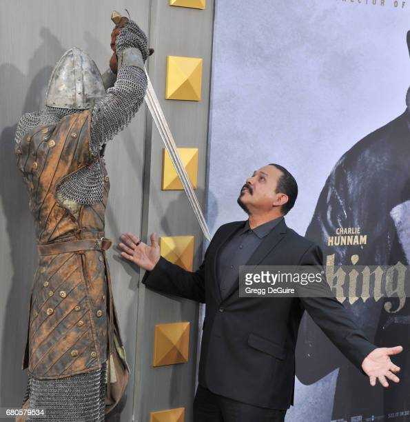 Emilio Rivera arrives at the premiere of Warner Bros Pictures' King Arthur Legend Of The Sword at TCL Chinese Theatre on May 8 2017 in Hollywood...