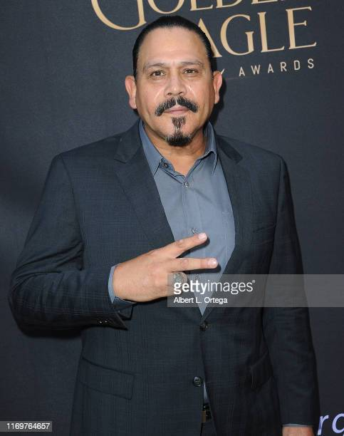 Emilio Rivera arrives for the 2019 Nosotros Golden Eagle Awards held at The Ricardo Montalban Theatre on September 19 2019 in Hollywood California