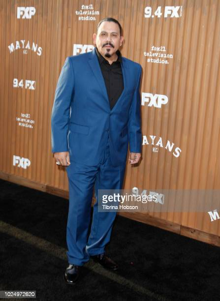 Emilio Rivera attends the premiere of FX's 'Mayans MC' at TCL Chinese Theatre on August 28 2018 in Hollywood California