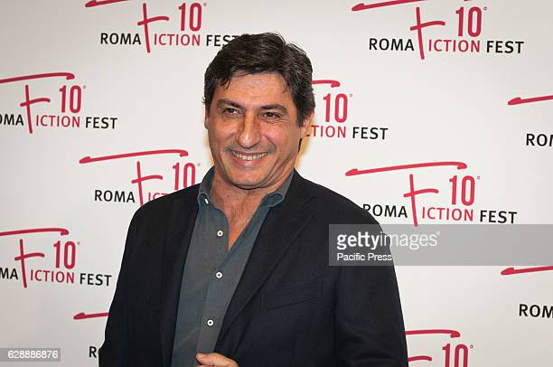 """Emilio Solfrizzi walking on the red carpet of the film """"Amore Pensaci Tu"""", a film directed by Francesco Pavolini and Vincenzo Terracciano."""
