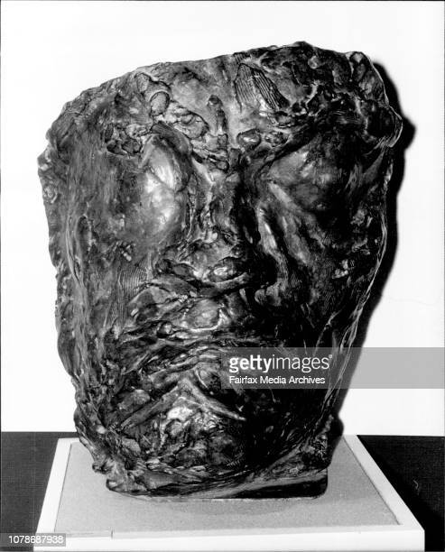 Emille Antoine Bourdelle Sculptures amp Drawings Exhibition Hall Opera HouseSculpture No 14 Tragic Mask of Beethoven October 24 1978
