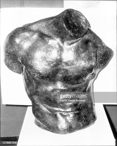 Emille Antoine Bourdelle Sculptures amp Drawings Exhibition Hall Opera HouseSculpture No 4 Torso of Adam October 24 1978