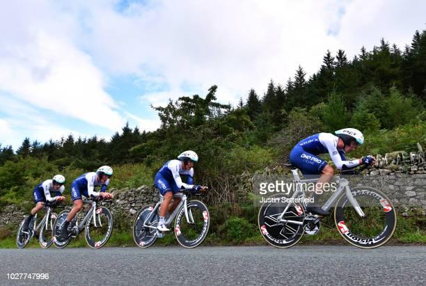 Emils Liepins of Latvia / Thomas Baylis of Great Britain / Hayden McCormick of New Zealand / Christopher Latham of Great Britain / James Oram of New...