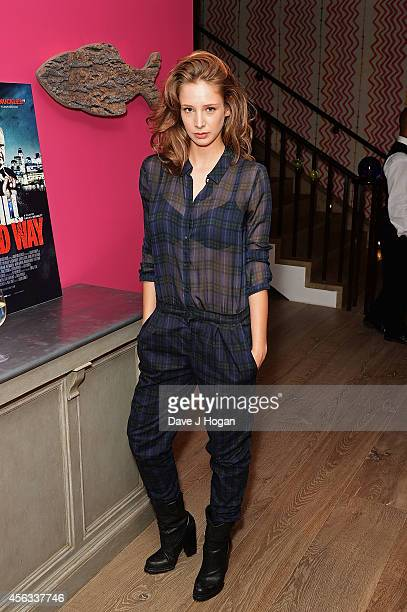Emily Agnes attends a photocall for We Still Kill The Old Way at Ham Yard Hotel on September 29 2014 in London England