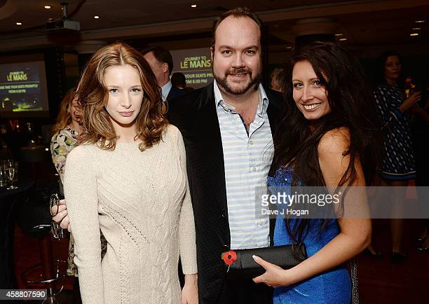 Emily Agnes Producer Jonathan Sothcott and Director Charlotte Fantelli attend the UK Premiere of Journey To Le Mans at Vue Leicester Square on...