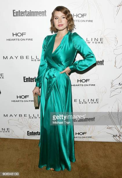Emily Althaus attends the Entertainment Weekly hosts celebration honoring nominees for The Screen Actors Guild Awards held on January 20 2018 in Los...