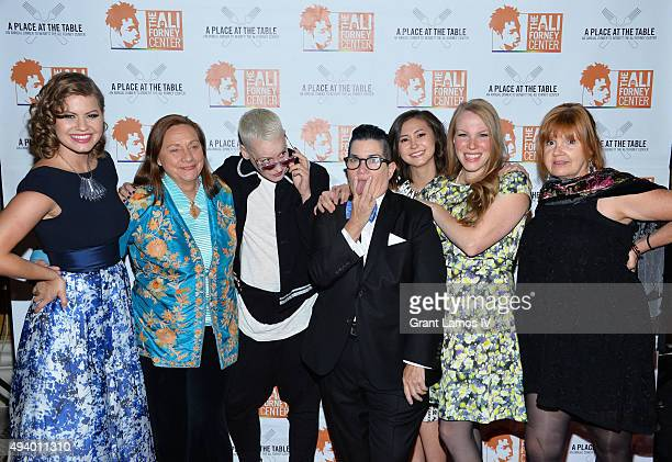 Emily Althaus Dale Soules Lori Petty Lea DeLaria Kimiko Glenn Emma Myles and Annie Golden attend the 2015 Ali Forney Centers' A Place At The Table...