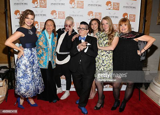 Emily Althaus Dale Soules Lori Petty Lea DeLariaKimiko Glenn Emma Myles and Annie Golden attend Ali Forney Center's A Place At The Table Fundraiser...