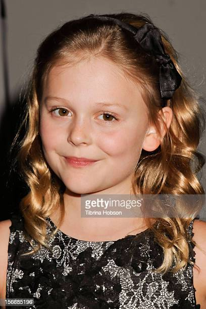 Emily Alyn Lind attends the 2nd annual Dream Magazine winter wonderland Eevent at TDJ Studios on November 18 2012 in North Hollywood California