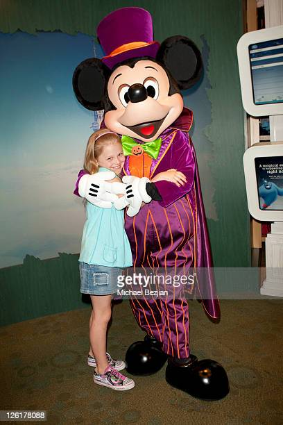 Emily AlynLind attends the Disney Store Halloween BOOtique Event At Santa Monica Place at Santa Monica Place on September 22 2011 in Santa Monica...