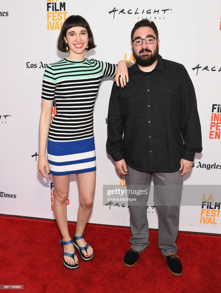 Emily Ann Hoffman (L) and Russell Peborde attend the 'Izzy Gets The Fuck Across Town' and 'Ok, Call Me Back' Premieres during the 2017 Los Angeles Film Festival at Arclight Cinemas Culver City on June 17, 2017 in Culver City, California.