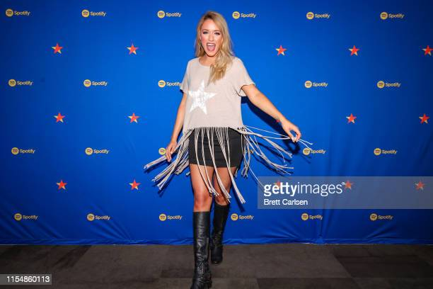 Emily Ann Roberts visits Spotify House during CMA Fest at Ole Red on June 09 2019 in Nashville Tennessee