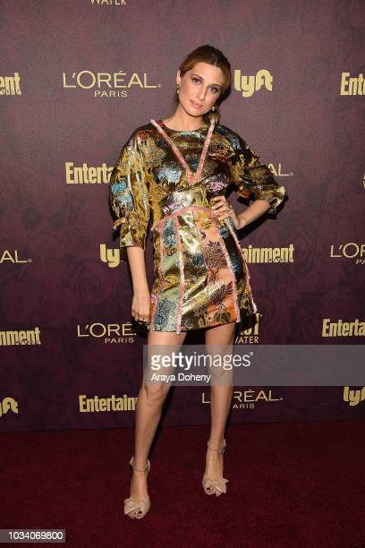 Emily Arlook attends the 2018 Pre-Emmy Party hosted by Entertainment Weekly and L'Oreal Paris at Sunset Tower Hotel on September 15, 2018 in West...