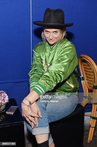 Emily Armstrong attends Glamour and AG Denim Music Dinner in support of MusiCares hosted by Jessica Kantor Johnathan Crocker Erica Krusen and...