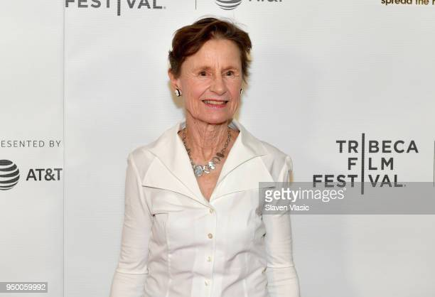 Emily Arnold McCully attends the Shorts Program Mirette during Tribeca Film Festival at Regal Battery Park 11 on April 22 2018 in New York City