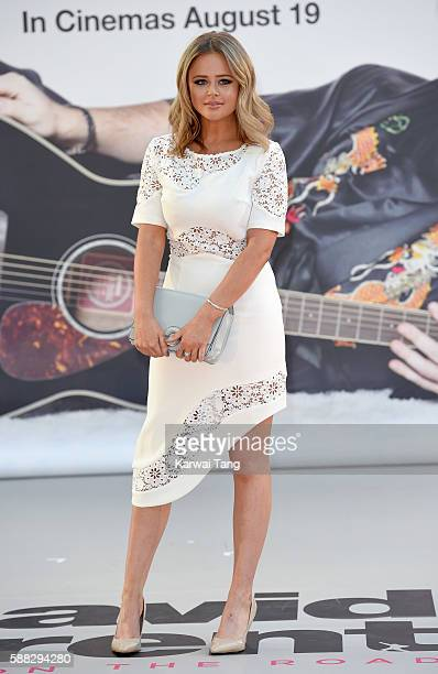 Emily Atack arrives for the World premiere David Brent Life On The Road at Odeon Leicester Square on August 10 2016 in London England