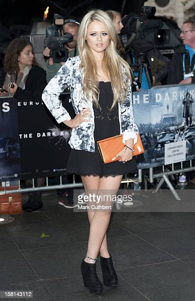 Emily Atack At The Premiere Of The New Batman Film The Dark Knight Rises At The Odeon Leicester Square London