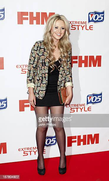 Emily Atack Attends A Party To Celebrate Fhm'S Annual Poll Of The 100 Sexiest Women In The World At Proud Bank